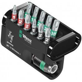 Набор бит Wera WE-057420 BiTorsion 1 12 шт.