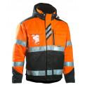 Зимняя сигнальная куртка Dimex 6021, сигнальный оранжевый/черный