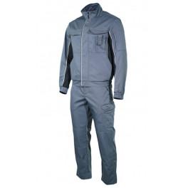 Летний рабочий костюм Brodeks KS 201, серый + KS 301