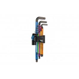 Набор Г-образных ключей Wera WE-022210 9 предметов