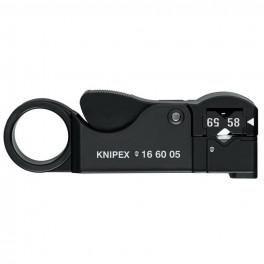 Стриппер коаксиального кабеля Knipex KN-166005SB 105 мм