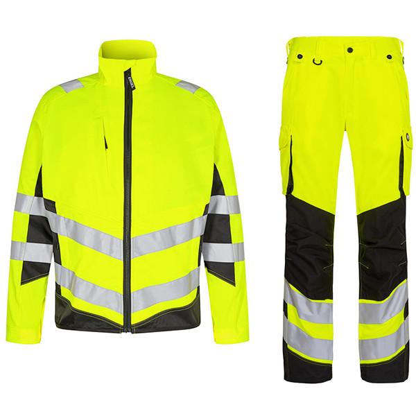 Летний сигнальный костюм Engel 1545+2545 (желтый/черный)