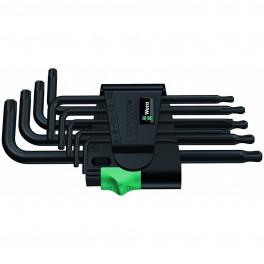 Набор Г-образных ключей Wera 967 PKL, 9 шт.