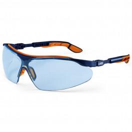 Защитные очки Uvex Ай-Во, голубые линзы