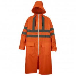 Сигнальный плащ-дождевик Brodeks, оранжевый