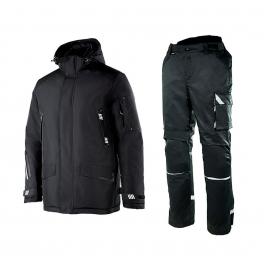 Зимний рабочий костюм Brodeks KW 204 + KW 304, черный