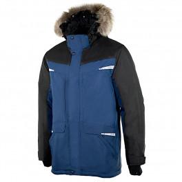 Парка мужская зимняя Brodeks KW 205 PLUS, синий/черный