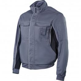 Куртка мужская летняя Brodeks KS 201 P, серый (с карманом для рации)
