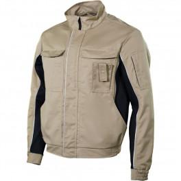 Куртка мужская летняя Brodeks KS 201 P, песочный (с карманом для рации)