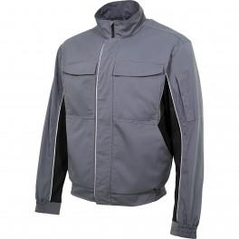Куртка мужская летняя Brodeks KS 201, серый