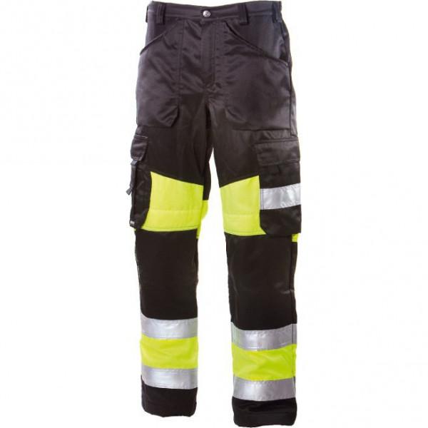 Сигнальные брюки Dimex 6340, сигнальный желтый/черный