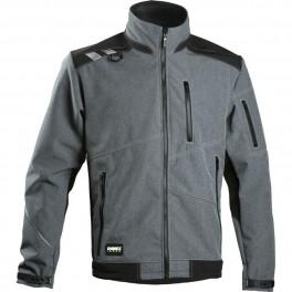 Куртка для ИТР Softshell Dimex 6051, серый/черный