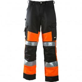 Сигнальные брюки Dimex 6020, сигнальный оранжевый/черный