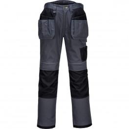 Брюки с навесными карманами Portwest T602, серый/черный