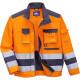 Светоотражающая куртка Portwest TX50, сигнальный оранжевый/темно-синий