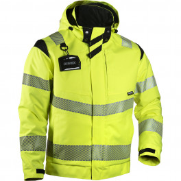 Зимняя куртка Slim-Fit Dimex 6059Y, сигнальный желтый/черный
