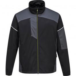 Куртка Flex Shell Portwest T620, Чёрный/Серый