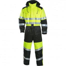 Зимний сигнальный комбинезон Dimex 6039, сигнальный желтый/черный