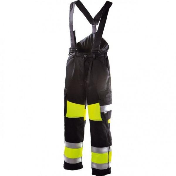 Зимние рабочие брюки Dimex 6360, сигнальный желтый/черный