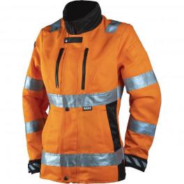 Женская сигнальная куртка Dimex 6012R, сигнальный оранжевый/черный