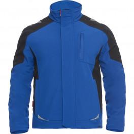 Рабочая куртка софтшелл Engel Galaxy 8810-229, синий/черный