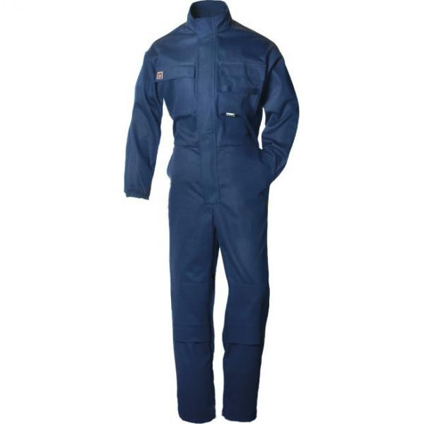 Рабочий огнезащитный комбинезон сварщика Dimex 5352, темно-синий