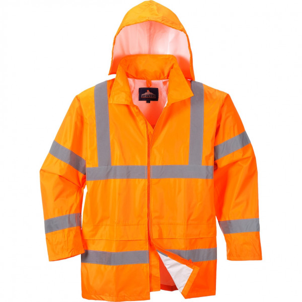 Светоотражающий дождевик Portwest H440, сигнальный оранжевый