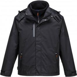 Утепленная рабочая куртка Portwest S553 3 в 1, черный