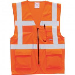 Сигнальный жилет Portwest S476, сигнальный оранжевый