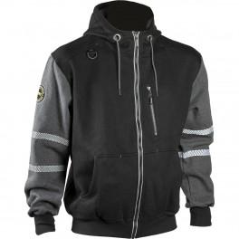 Куртка рабочая Dimex 4331+, черный/серый