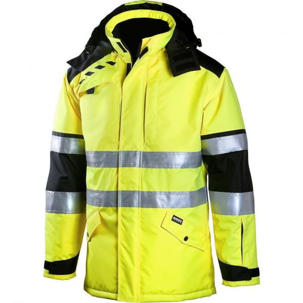 Зимняя куртка-парка Dimex 695 для ИТР, сигнальный желтый/черный