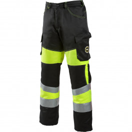 Зимние брюки Dimex 6075, сигнальный желтый/черный