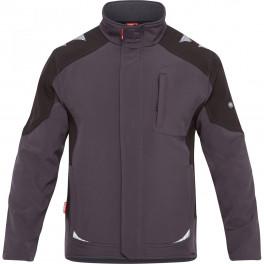 Рабочая куртка софтшелл Engel Galaxy 8810-229 серый/черный