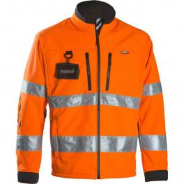 Сигнальная куртка Softshell Dimex 688R, сигнальный оранжевый/черный