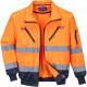 Зимняя светоотражающая куртка Portwest PJ50 3в1, сигнальный оранжевый/темно-синий