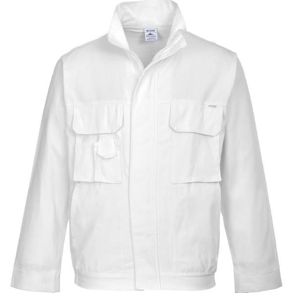 Летняя куртка маляра Portwest (Англия) S827, белый
