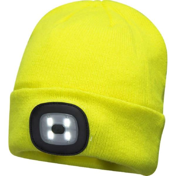 Шапка сигнальная Portwest B029 (сигнальный желтый)