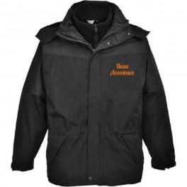 Водостойкая куртка Portwest S570 3 в 1, чёрный