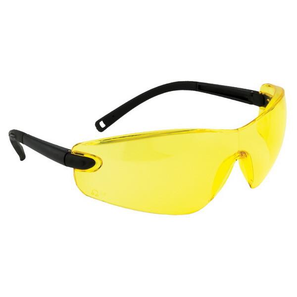 Защитные очки Portwest PW34 (Англия). Янтарные.