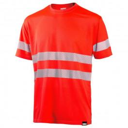 Сигнальная футболка Dimex 4235+, сигнальный красный