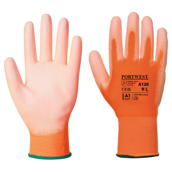 Перчатки Portwest A120, оранжевый