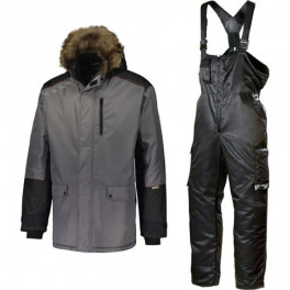 Зимний костюм Dimex Extreme Plus + 619, серый/черный