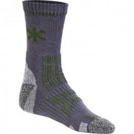 Носки Norfin T1A TARGET LIGHT, серый/зеленый