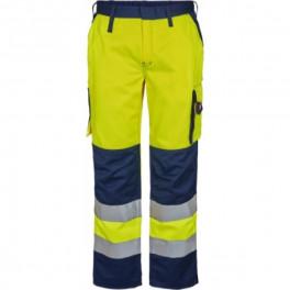 Женские рабочие брюки Engel Safety 2541-770, сигнальный желтый/темно-синий