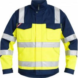 Рабочая куртка Engel Light 1501-520, сигнальный желтый/темно-синий