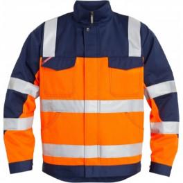 Рабочая куртка Engel Light 1501-520, сигнальный оранжевый/темно-синий