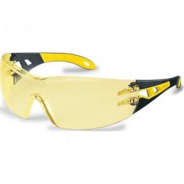 Очки открытые Uvex Феос,  желто-черный