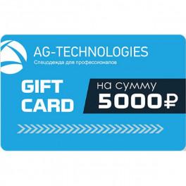 Подарочный сертификат AGT, 5000
