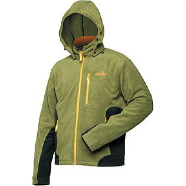 Флисовая куртка Norfin Outdoor, зеленый/черный