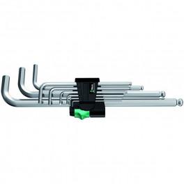 Набор Г-образных ключей Wera 950 PKL, 9 шт. 1,5 - 10 мм